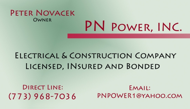 PNPOWERINC Business CArd
